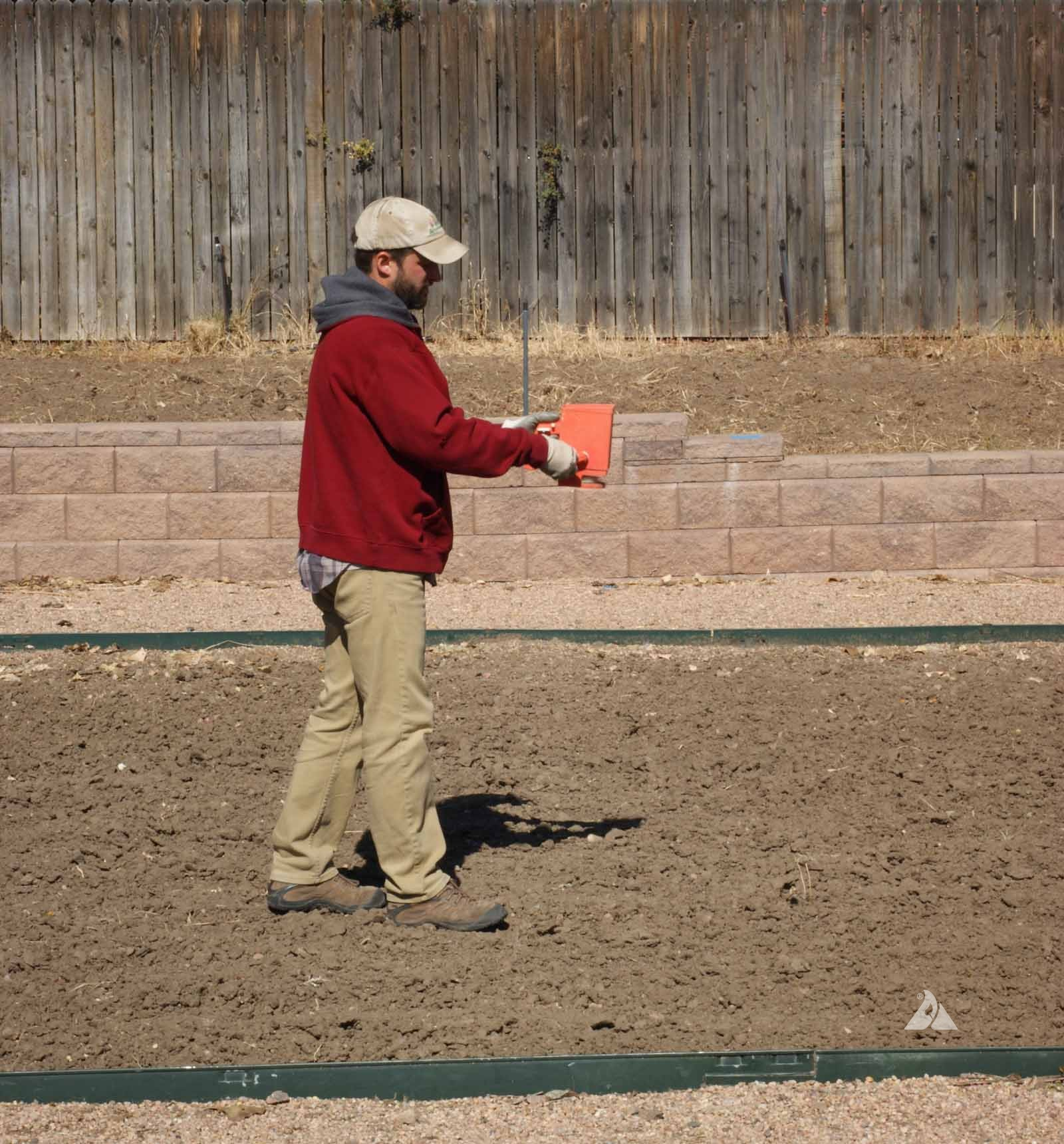 hand-seeding